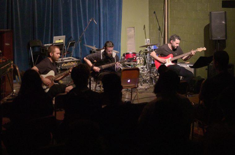 Anti Guitar Trio live at AAC//107