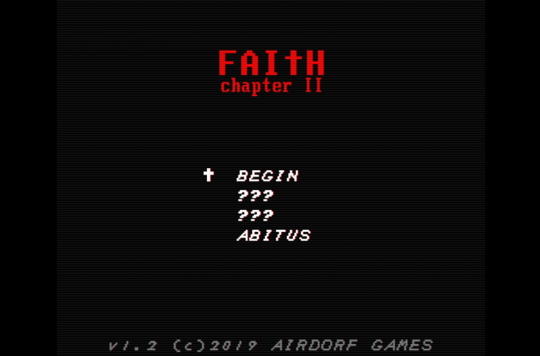 FAITH: Chapter II